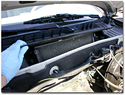 Cabin air filter image